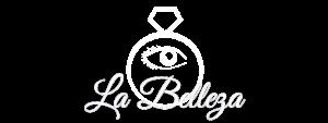 La Belleza logo wit